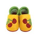 Bőr puhatalpú babacipő - Cseresznyés II., Baba-mama-gyerek, Ruha, divat, cipő, Cipő, papucs, Teljesen bőr babacipő, mely ideális a járni tanuló babáknak, vagy nagyobb gyermekeknek.  15-26-os mé..., Meska