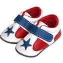 Bőr puhatalpú Sportcipő - Piros/Fehér, Baba-mama-gyerek, Ruha, divat, cipő, Cipő, papucs, Megérkezett a  puhatalpú Hopphopp cipőcskék új generációja!  Miért nevezhetjük teljesen új generáció..., Meska