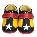 Bőr puhatalpú Sportcipő - sárga/fekete - 23-as méret, Baba-mama-gyerek, Ruha, divat, cipő, Cipő, papucs, Készleten lévő, azonnal elvihető!!!  A puhatalpú sportcipő 23-as méretű, belső talphossza 148mm!  1...., Meska