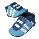 Hopphopp puhatalpú Sportcipő - Kék/világoskék, A cipők természetes, puha, minőségi bőrből k...