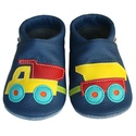 Új!!! Hopphopp puhatalpú cipő - Dömper utánfutóval , A cipők természetes, puha, minőségi bőrből k...