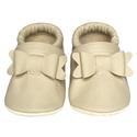 Új!!! Hopphopp puhatalpú cipő - Masnis/bézs, A cipők természetes, puha, minőségi bőrből k...