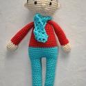 Barni Baba, Játék, Készségfejlesztő játék, Barni Baba kb. 26cm magas pamut fonal, PE töltet, Meska
