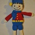 Pinokkió, Játék, Készségfejlesztő játék, Pinokkió kb. 26cm magas pamut fonal, PE töltet, Meska