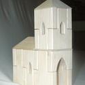 Hornburg Kápolna Építőjáték - igényes, kreatív építőjáték , Játék, Fajáték, Készségfejlesztő játék, Famegmunkálás, Mindenmás, A falak, kötő- és kiegészítő elemek variálásával változatosan építhető össze a Kápolna. Létrehozhat..., Meska