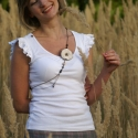 AKCIÓ ! Chanel  -   nyaklánc és hajbavaló , Ez a szépséges nyaklánc és hajdísz együtt mo...