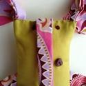 Fureli, Játék, Plüssállat, rongyjáték, Kedves, furcsa, meleg szívű elefánt. :) Minőségi patchwork textilből készítettem. Hároméve..., Meska