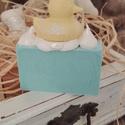 Mangóvajas szappan (sárgadinnye illattal) 5+1 akció, Szépségápolás, Fürdőszobai kellék, Kozmetikum, Szappan, tisztálkodószer, Száraz, érzékeny bőrűeknek kimondottan ajánlott. A szappanban található mangóvaj a Föld egyik legmag..., Meska