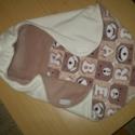 Baba hordozóba praktikus takaró !, Baba-mama-gyerek, Otthon, lakberendezés, Lakástextil, Takaró, ágytakaró, Varrás, Polárból és Baby Softból készült takaró.A baba hordózóba rögzíthető.  Tépőzárral zárható.Így az apr..., Meska