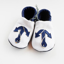 Tengerész cipő,18, 19, 20, 29 Puhatalpú fehér-kék bőrcipő matrózoknak ;) Piloo cipő, Baba-mama-gyerek, Ruha, divat, cipő, Baba-mama kellék, Cipő, papucs, Bőrművesség, Varrás, Kedves Érdeklődő!  A készleten lévő cipőcskék kékje kicsit világosabb, mint a képen lévő cipőé. Cip..., Meska