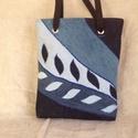 Leveles farmer táska, Különböző színű farmerekből készült ez a ...