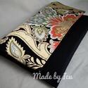 Aranyos alkalmi, Táska, Egy kis alkalmi táska különleges antik japán anyagból. A csodás mintázatú selyemkimonók csak az aris..., Meska