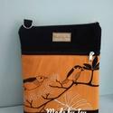 Fesztivál táska, Táska, Válltáska, oldaltáska, A táska alapból egy cipzáros főrészből áll, a hátulján egy db cipzáros zsebbel. Mérete: 28*22 cm..., Meska