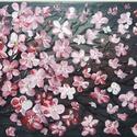 Tavasz, Otthon & lakás, Képzőművészet, Festmény, Akril, Festészet, 18x24 cm-es farostlemez készített akril festmény. Keretezést nem igényel., Meska