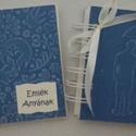 Szülőköszöntő album - egyedi  ajándék - örök emlék, Esküvő, Naptár, képeslap, album, Nászajándék, Fotóalbum, (Nézz körül Milevi boltomban is.)  Egyedi borítólappal (scrapbook karton és 1200 gr-os fehér ..., Meska
