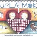 Szoptatási napló ikerbabákhoz, Baba-mama-gyerek, Naptár, képeslap, album, Baba-mama kellék, Jegyzetfüzet, napló, Tökéletes és hasznos ajándék babalátogatóba. Nélkülözhetetlen segítség ikres szülőknek, mert könnyen..., Meska