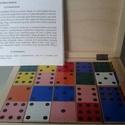 Búvös dominó, Játék, Fajáték, Készségfejlesztő játék, Logikai játék, Famegmunkálás, Mindenmás, Sokoldalú logikai társasjáték (1-4 fő részére), ami különböző képességeket fejleszt: logika, fejszá..., Meska