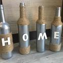 Dekor üvegek, Dekoráció, Dísz, Kézzel dekorált üvegek., Meska