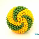 Spirálos 2 színű kerek gyűrű zöld sárga, Ékszer, Gyűrű, Sok színben láthatod ezt a gyűrűmet a boltomban (illetve érdemes szétnézni az eladott termékeim közö..., Meska