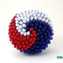 Spirálos 3 színű kerek gyűrű XIII., Ékszer, Gyűrű, Sok színben láthatod ezt a gyűrűmet a boltomban (illetve érdemes szétnézni az eladott termékeim közö..., Meska