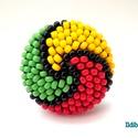 Spirálos színű kerek gyűrű - Amikor a reggae szól, Ékszer, Gyűrű, Ballagás, Sok színben és variációban láthatod ezt a gyűrűmet a boltomban (illetve érdemes szétnézni az eladott..., Meska