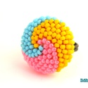 Spirálos 3 színű kerek gyűrű XXIX., Ékszer, Gyűrű, Nagyon sok színben és változatban láthatod ezt a gyűrűmet a boltomban (illetve érdemes szétnézni az ..., Meska