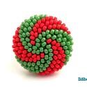 Spirálos 2 színű kerek gyűrű - zöld és piros, Ékszer, Gyűrű, ÚJ színösszeállítás! Sok színben láthatod ezt a gyűrűmet a boltomban (illetve érdemes szétnézni az e..., Meska