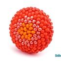 Színátmenetes narancssárga kerek gyűrű, Ékszer, Gyűrű, Új színösszeállítás! Sok színben és több verzióban láthatod ezt a stílusú gyűrűt a boltomban (illetv..., Meska