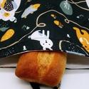 Frissentartó, Kenyeres, pékárus ökozsák közepes méret, Környezetbarát, többször használható kenyér...