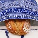 Frissentartó kenyeres zsák, Környezetbarát, többször használható kenyér...