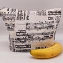 Uzsonnás táska - Lunch bag - Zero waste , Környezetbarát, újrahasználható uzsonnás tá...