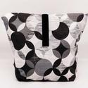 Uzsonnás táska - Lunch bag - Zero waste (nagy méret), Környezetbarát, újrahasználható uzsonnás tá...