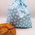 Frissentartó kenyeres zsák - közepes méret, Környezetbarát, újrahasználható kenyér, zsem...