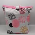 Uzsonnás táska - Roll top Lunch bag - Zero waste , Környezetbarát, újrahasználható uzsonnás tá...