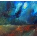 """""""Grigio"""", Képzőművészet, Festmény, Olajfestmény, Festészet, Olaj festmény. Méret: 30*40 cm , Meska"""