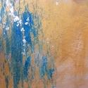 """""""Il campo"""", Képzőművészet, Festmény, Festmény vegyes technika, Festészet, Akril festmény. Vegyestechnika. Méret: 50*70, Meska"""