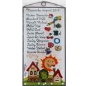 Ballagási ajándék óvónéninek vagy dadusnéninek, Otthon & Lakás, Dekoráció, Kép & Falikép, Üvegművészet, Festett tárgyak, Egyedi, különleges ballagási ajándék óvónéninek vagy dadusnéninek. Savmart üvegre kézzel festett, t..., Meska