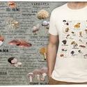 ehető gombák Magyarországon, Táska, Divat & Szépség, Férfiaknak, Horgászat, vadászat, Férfi ruha, Ruha, divat, Méretet megjegyzésben lehet rendeléskor választani.   A póló 100% pamut, homok vagy fehér színű, Gil..., Meska
