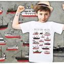 balatoni hajók gyerekeknek, Gyerek & játék, Táska, Divat & Szépség, Gyerekruha, Ruha, divat, Magyar motívumokkal, A póló 100% pamut, méretei:  1-2: SZ: 29cm M: 37cm 3-4: SZ: 33cm M: 41cm 5-6: SZ: 36cm M: 46cm 7-8: ..., Meska