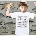 balatoni halak gyerekeknek, Táska, Divat & Szépség, Férfiaknak, Gyerek & játék, Horgászat, vadászat, Gyerekruha, Ruha, divat, A póló 100% pamut, méretei:  1-2: SZ: 29cm M: 37cm 3-4: SZ: 33cm M: 41cm 5-6: SZ: 36cm M: 46cm 7-8: ..., Meska