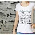 Balatoni hajók - hölgyeknek, Férfiaknak, Ruha, divat, cipő, Horgászat, vadászat, Női ruha, Mindenmás, A képen lévő póló M-es méretű, 100% pamut, a méretek adatai:  S: SZ: 41cm M: 62cm M: SZ: 44cm M: 65..., Meska