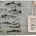 Balatoni halak  textiltáskán, Táska, Divat & Szépség, Táska, Válltáska, oldaltáska, Tarisznya, Szatyor, Horgászoknak és halrajóngóknak ajánljuk  100% pamut textiltáska, natúr színű, közepesen hosszú fülle..., Meska