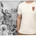 kokárdás póló férfiaknak