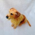 Kutya hasonmás - egyedi tűnemez tacskó szobor, Képzőművészet, Dekoráció, Szobor, Dísz, Egy hasonmás kutya minden gazdi számára tökéletes meglepetés. Fénykép alapján dolgozom, egyedi megre..., Meska