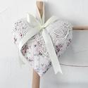AKCIÓ! - Romantikus csipkés, rózsás szív, Készleten lévő, azonnal rendelkezésre álló t...