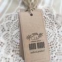 Címke csomag kézműveseknek, Dekoráció, Otthon, lakberendezés, Dísz, Készleten lévő, azonnal rendelkezésre álló termék (a fotón az adásvétel tárgyát képező..., Meska