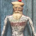 AKCIÓ! - Tetovált Mikulás bácsi, Készleten lévő, azonnal rendelkezésre álló t...