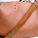 Mindentbele táska fáradt rózsaszín, Táska, Szatyor, A táska nagyméretű. igazi bevásárló, kapkodó. Nincs bélelve, mágneszárral záródik: egyszerűen nagysz..., Meska