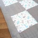 Kicsi Dinó hempergő/játszószőnyeg, Egyedi, patchwork technikával készült óriás h...