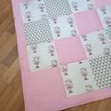 Balerina Maci hempergő/játszószőnyeg, Egyedi, patchwork technikával készült óriás h...